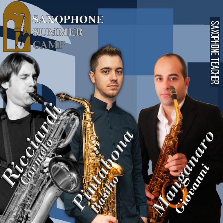 foto presentazione saxophone summer camp