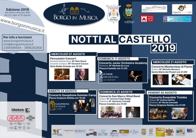 Notti al Castello di BiM2020