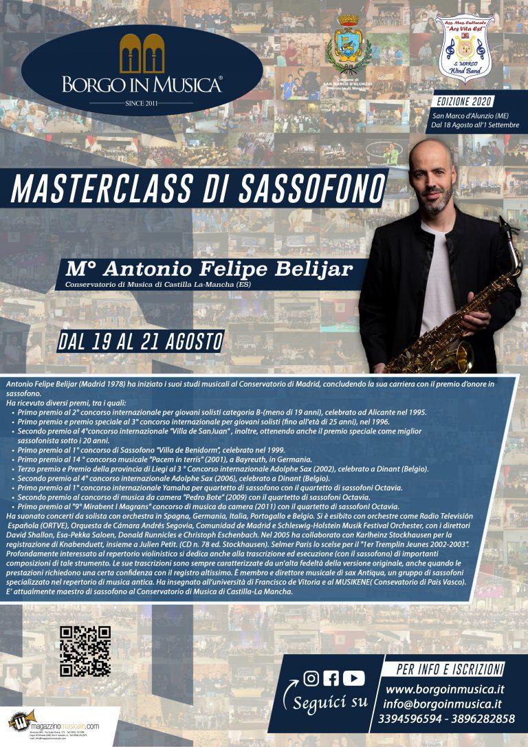 Masterclass Sax